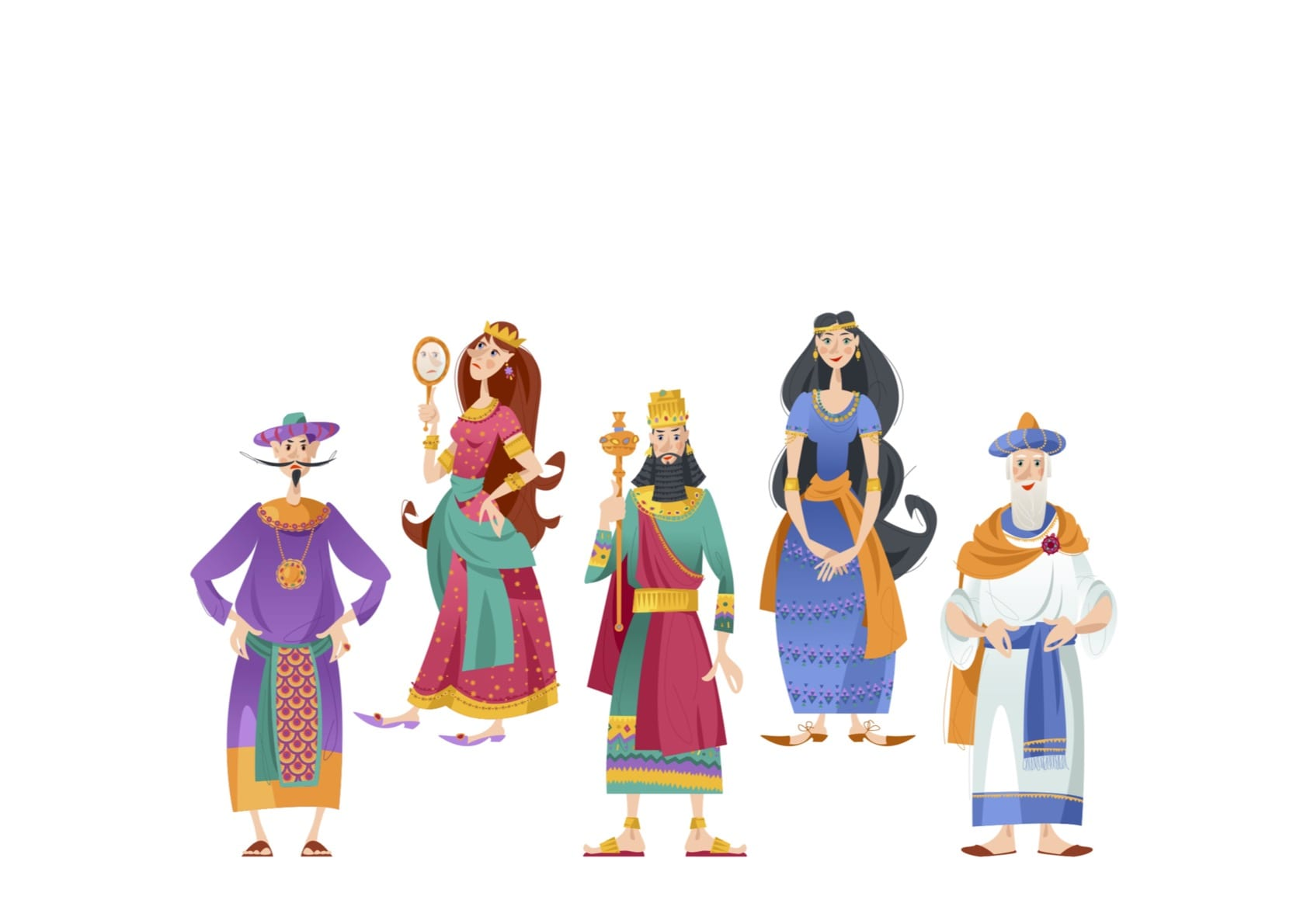 Esther Characters