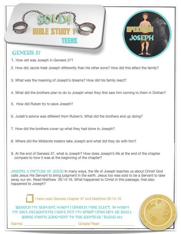 OJ - Bible Study 1- Age Group 4