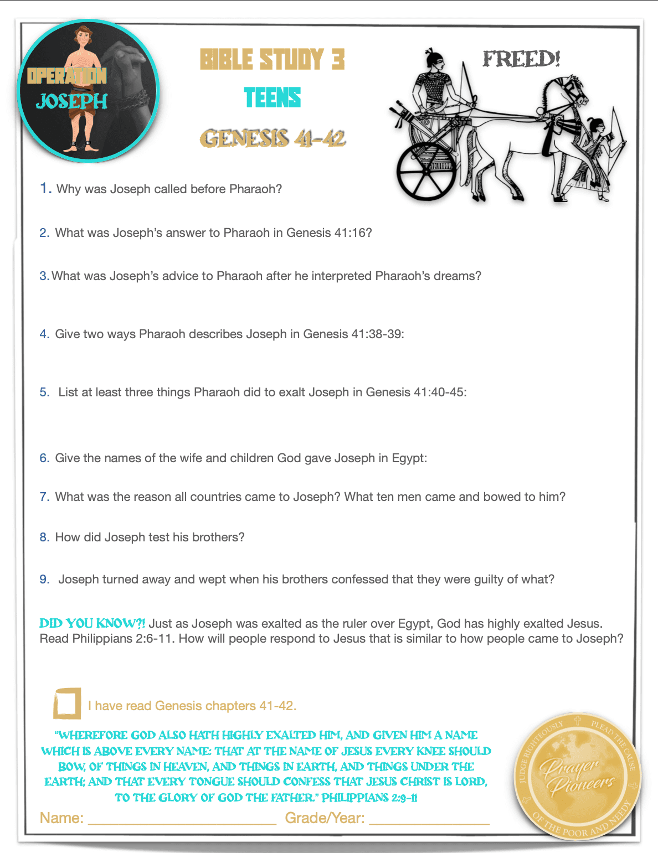 OJ - Bible Study 3 - Age Group 4