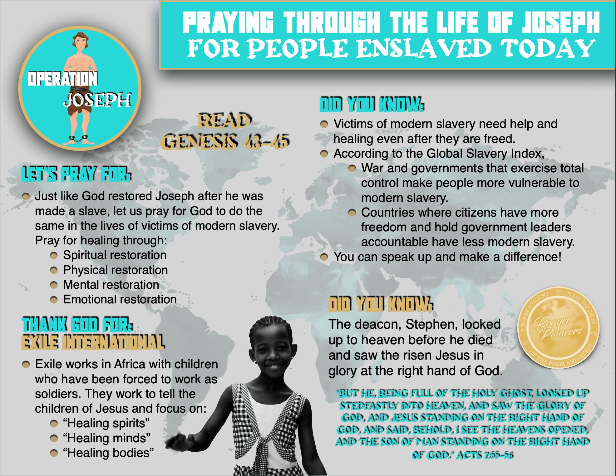 OJ - Children's Prayer Sheet 4