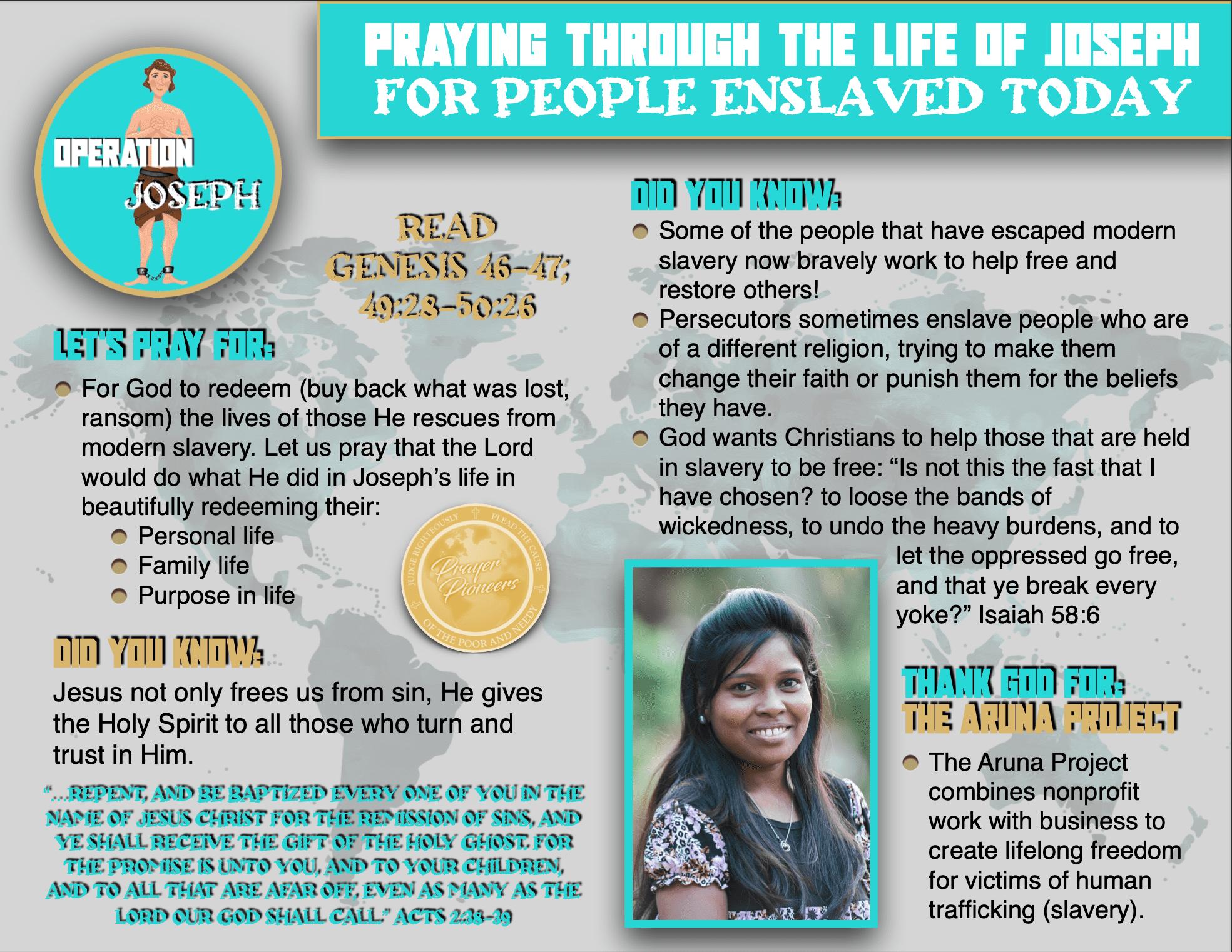 OJ - Children's Prayer Sheet 5