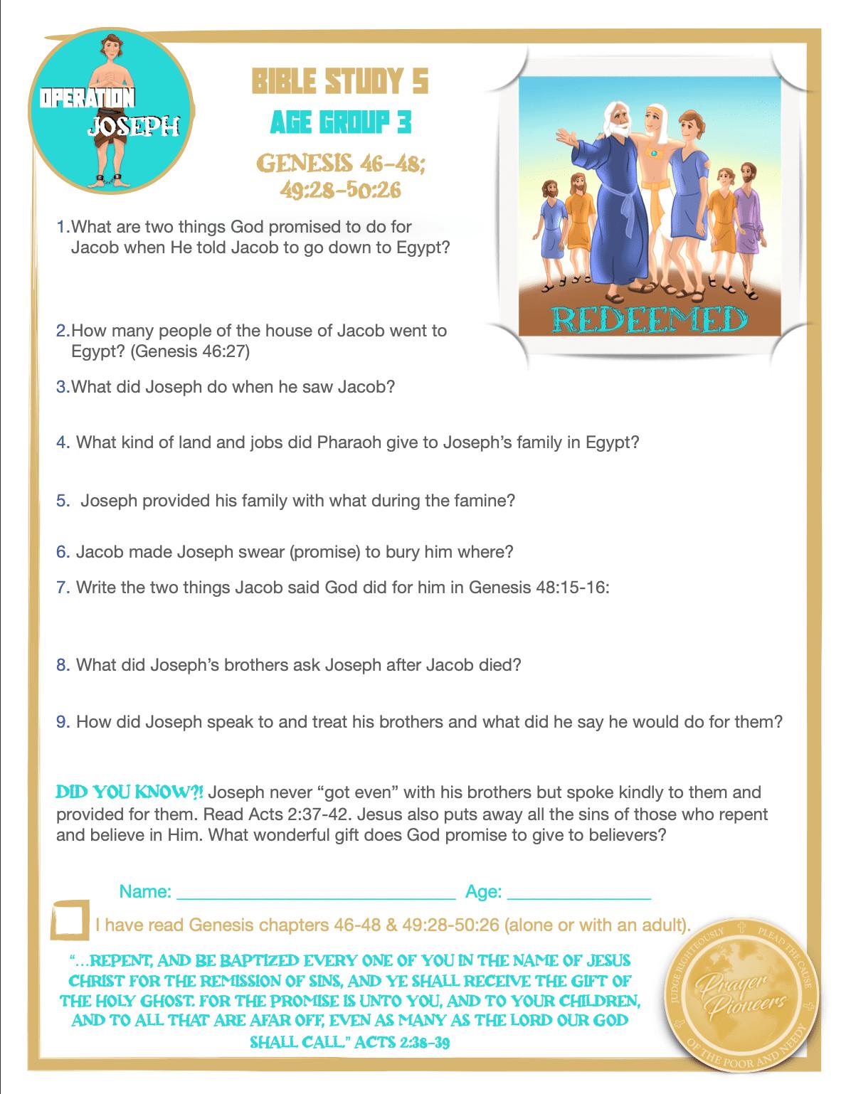 OJ - Study 5 - Age Group 2