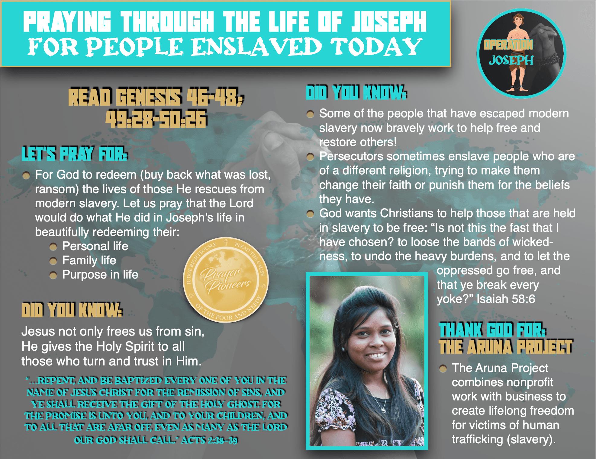 OJ - Teen Prayer Sheet 5